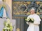 Papież podziękował Matce Bożej za podróż do Albanii