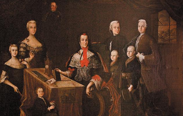 Ignacy Krasicki rodzina