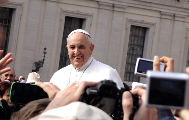 Papież: jesteśmy ludem zgromadzonym przez Jezusa