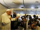 Zapis rozmowy Papieża z dziennikarzami w samolocie