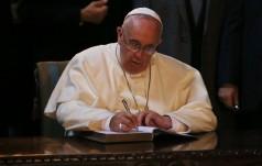 "Papież podpisał list apostolski ""Misericordia et misera"""