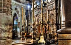 Polscy pielgrzymi modlili się przy Bożym Grobie za Ojczyznę
