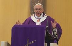 Papież: mądrość chrześcijanina to oskarżać siebie, a nie osądzać innych