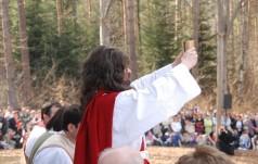 Kalwaria Pacławska: kilka tysięcy osób na Misterium Męki Pańskiej