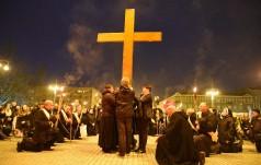 Droga Krzyżowa z symbolami ŚDM w Częstochowie