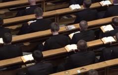 Co najmniej 543 nowych alumnów w seminariach i 222 kandydatów do zakonów
