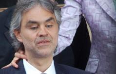 Kraków: Andrea Bocelli zaśpiewał dla rodzin