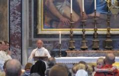 Polska Msza w Watykanie – modlitwa za prezydenta elekta