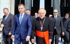 6 sierpnia w archikatedrze warszawskiej Msza św. za prezydenta Dudę