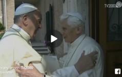 Spotkanie Papieża Franciszka z Benedyktem XVI