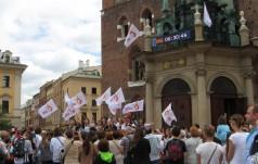 Kraków: wyjaśnienia ws. montażu  zegara odliczającego czas do ŚDM