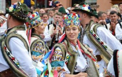 Zakopane: modlitwa o pokój zakończyła 47. Międzynarodowy Festiwal Folkloru Ziem Górskich