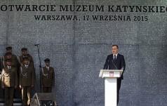 Warszawa: otwarcie Muzeum Katyńskiego