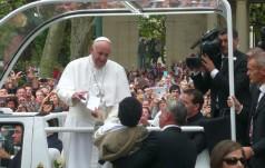 Franciszek w RŚA: Przybywam jako pielgrzym pokoju
