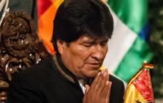 Boliwia: prez. E. Morales po 40 latach znów wziął udział we Mszy św.