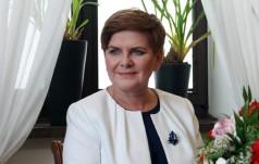 Premier Beata Szydło na audiencji u papieża Franciszka