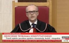 Trybunał Konstytucyjny orzekł, że przepisy ustawy o TK  są częściowo niekonstytucyjne