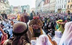 10 tys. osób na Orszaku Trzech Króli w stolicy Dolnego Śląska
