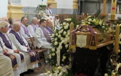 Uroczystości pogrzebowe o. Zachariasza Jabłońskiego