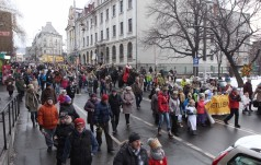 Orszak Trzech Króli przeszedł ulicami  Wałbrzycha