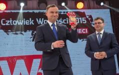 """Prezydent Andrzej Duda uhonorowany tytułem Człowieka Wolności Tygodnika """"wSieci"""""""