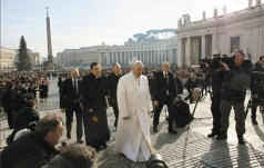Papież do kapucynów: bądźcie ludźmi przebaczenia, pojednania i pokoju