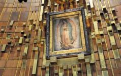 Meksyk: papież sprawował Mszę św. w sanktuarium Matki Bożej z Gaudalupe