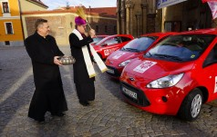 Nowe pojazdy dla wrocławskiej Caritas