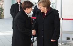 Premier Beata Szydło w Berlinie