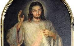 Spowiednicy ofiarowali Franciszkowi obraz Jezusa Miłosiernego