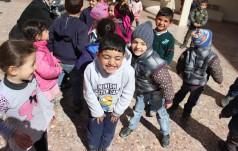 Dzieci-uchodźcy do papieża: wierzymy w lepszą przyszłość