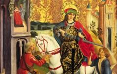 Papież o św. Marcinie z Tours: ojciec ubogich