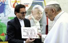 Papież z identyfikatorem numer 1 na ŚDM
