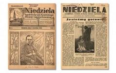 """90 lat temu ukazał się pierwszy numer """"Niedzieli"""""""