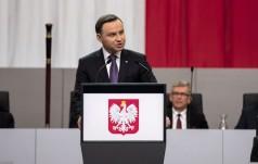 Prezydent Duda na obchodach 25-lecia niepodległości Ukrainy