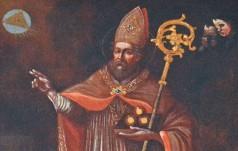 Lisów: bp Piotrowski wprowadził otrzymane z Bari relikwie św. Mikołaja