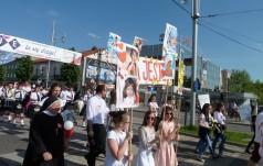 Ulicami Częstochowy przeszedł Marsz dla Życia i Rodziny