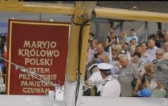 Płock: Ikona Jasnogórska przepłynęła Wisłę