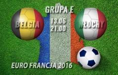Mecz: Belgia - Włochy (Grupa E)