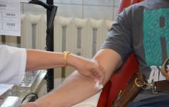 Zbiórki krwi w Kopalni Soli