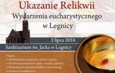 Uroczystość instalacji relikwii Wydarzenia Eucharystycznego