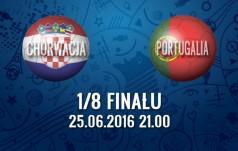 Mecz: Chorwacja - Portugalia (1/8 finału)
