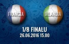 Mecz: Francja - Irlandia (1/8 finału)