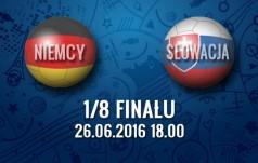 Mecz: Niemcy - Słowacja (1/8 finału)