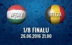 Mecz: Węgry - Belgia (1/8 finału)
