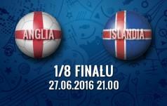 Mecz: Anglia - Islandia (1/8 fianłu)