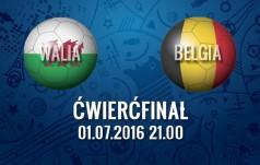 Mecz: Walia - Belgia (Cwierćfinał)