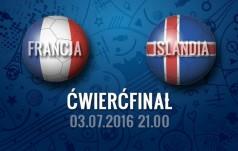 Mecz: Francja - Islandia (Ćwierćfinał)