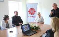 Pierwsza Dama  na spotkaniu z pracownikami Caritas Polska