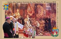 Akt zawierzenia lwowskiej parafii św. Jana Pawła II na Jasnej Górze